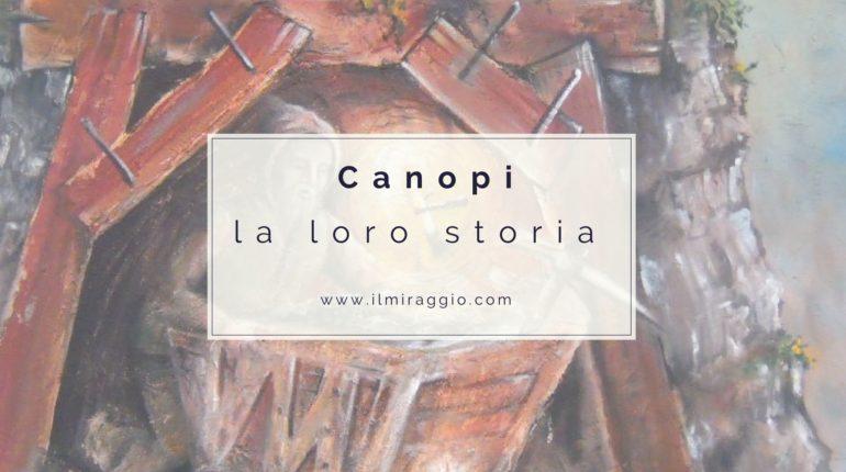 La storia dei canopi a trento
