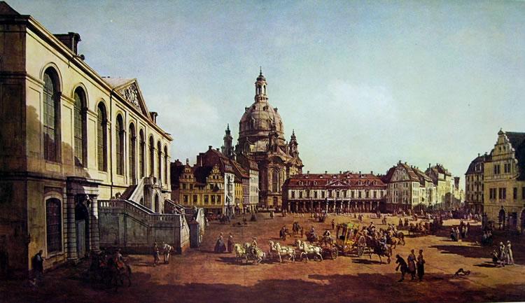 """Bellotto e la """"sua"""" Frauenkirche"""