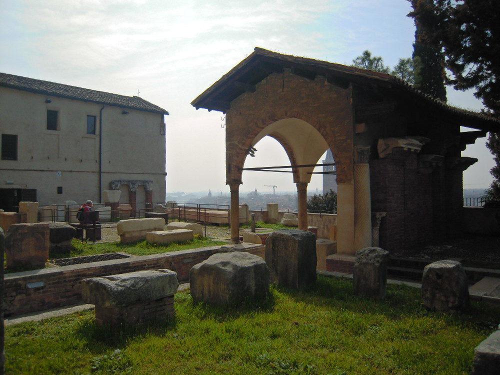 Una parte del Museo Archeologico