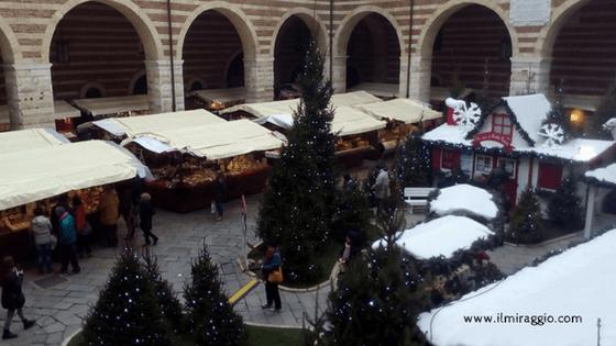 Uno scorcio sui mercatini natalizi a Verona