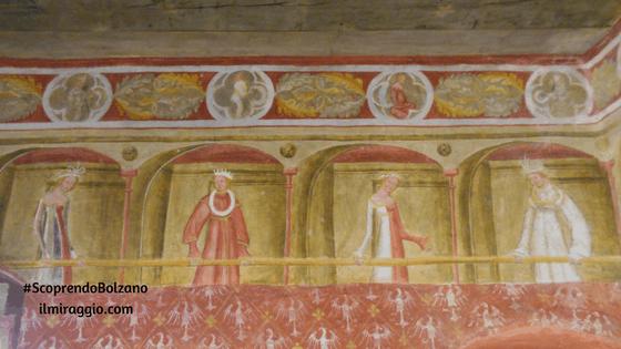 Affreschi a Castel Roncolo