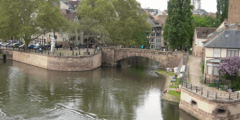 STRASBURGO E IL QUARTIERE PETITE FRANCE panorama