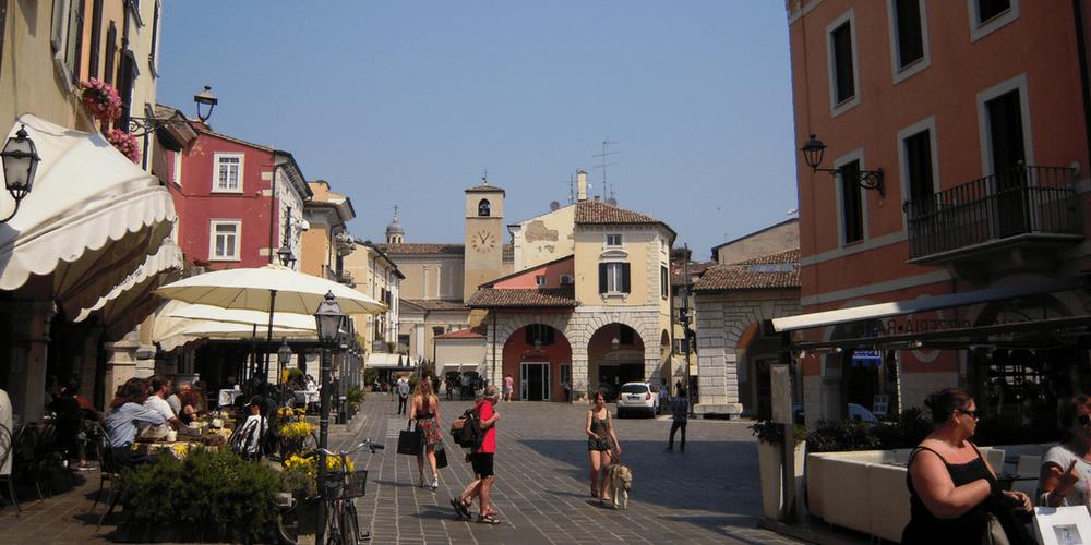 Il centro di Desenzano