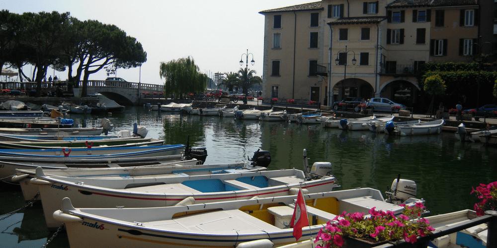 Il porto di Desenzano
