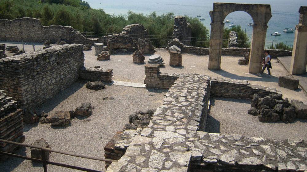 Rovine dell'antica villa romana