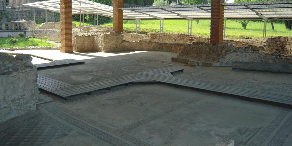 Una parte dei mosaici