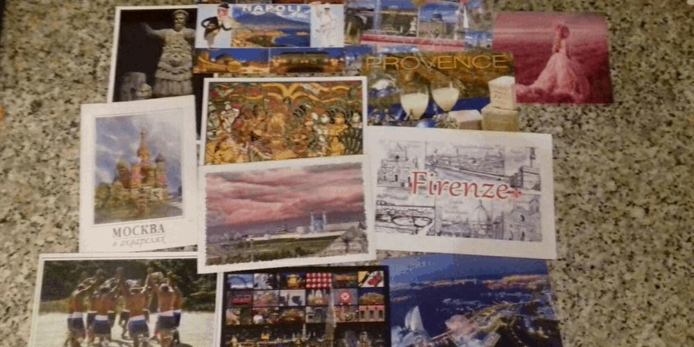 Le cartoline di Postcrossing