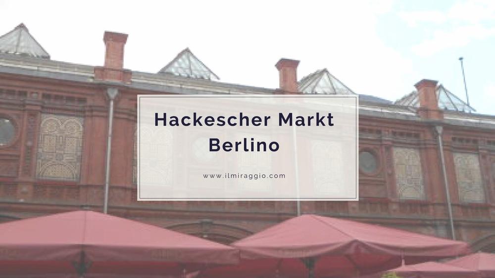 hackescher markt berlino