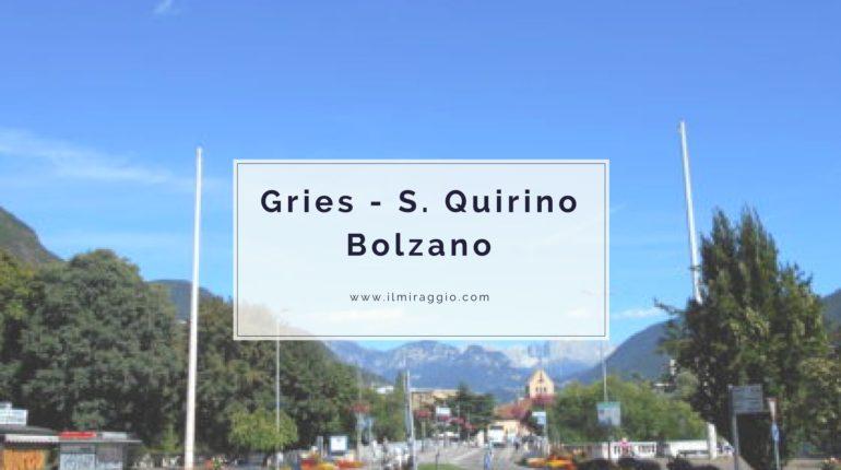 Gries S Quirino Bolzano
