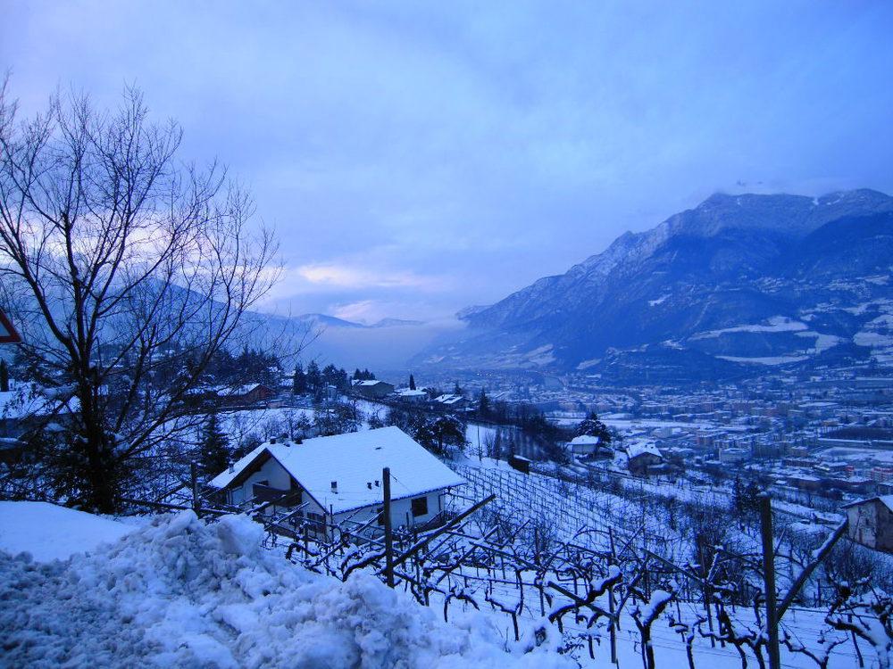 Trento vista dalla collina