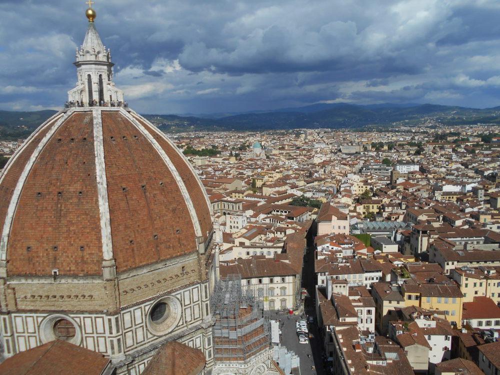 Firenze vista dal campanile di Giotto