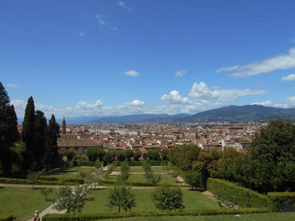 Firenze e il giardino di Boboli