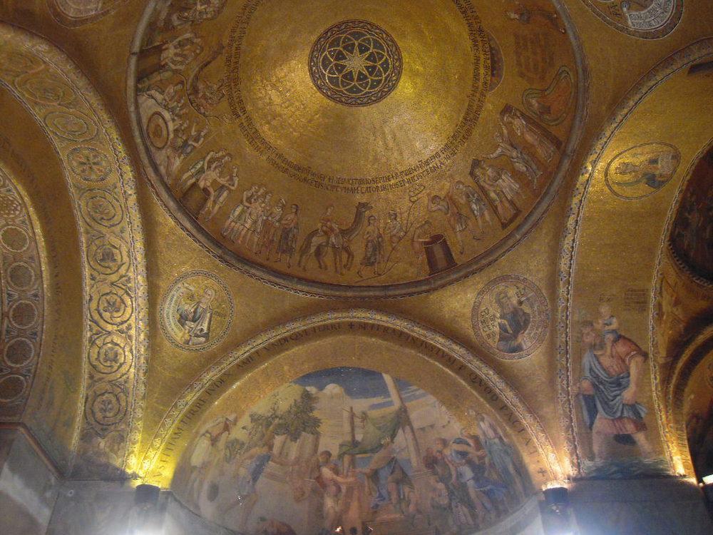 mosaico basilica di san marco venezia
