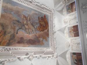 il soffitto del Palazzo Mamming