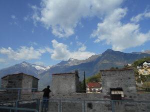 Le montagne intorno a Merano dalla Polveriera
