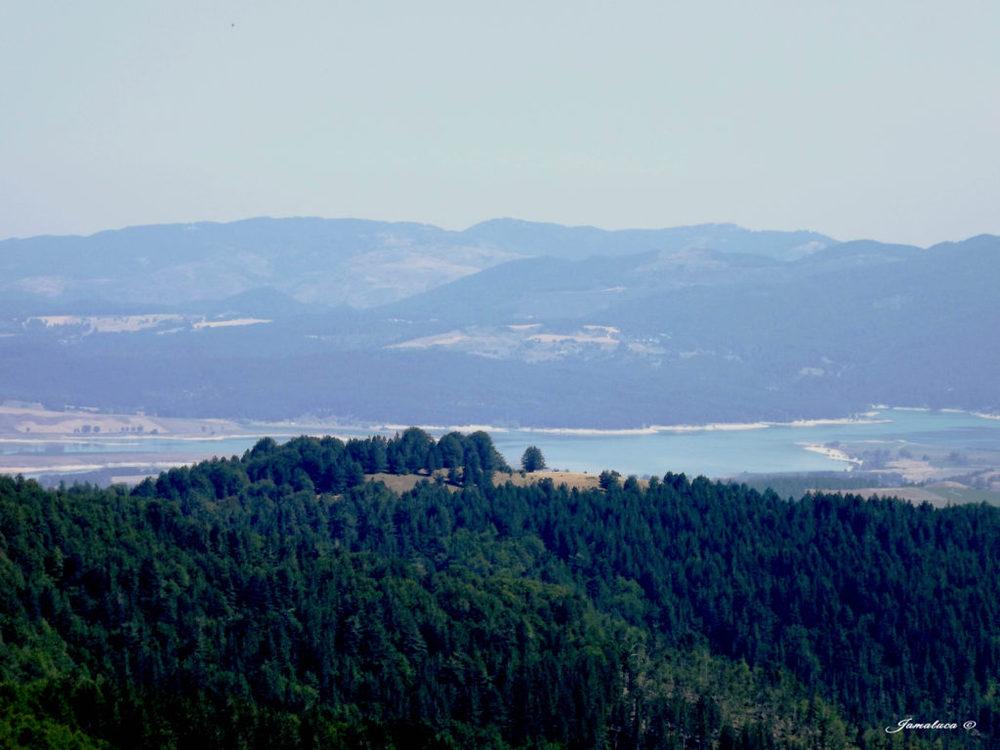 Vista panoramica dal Monte Botte Donato