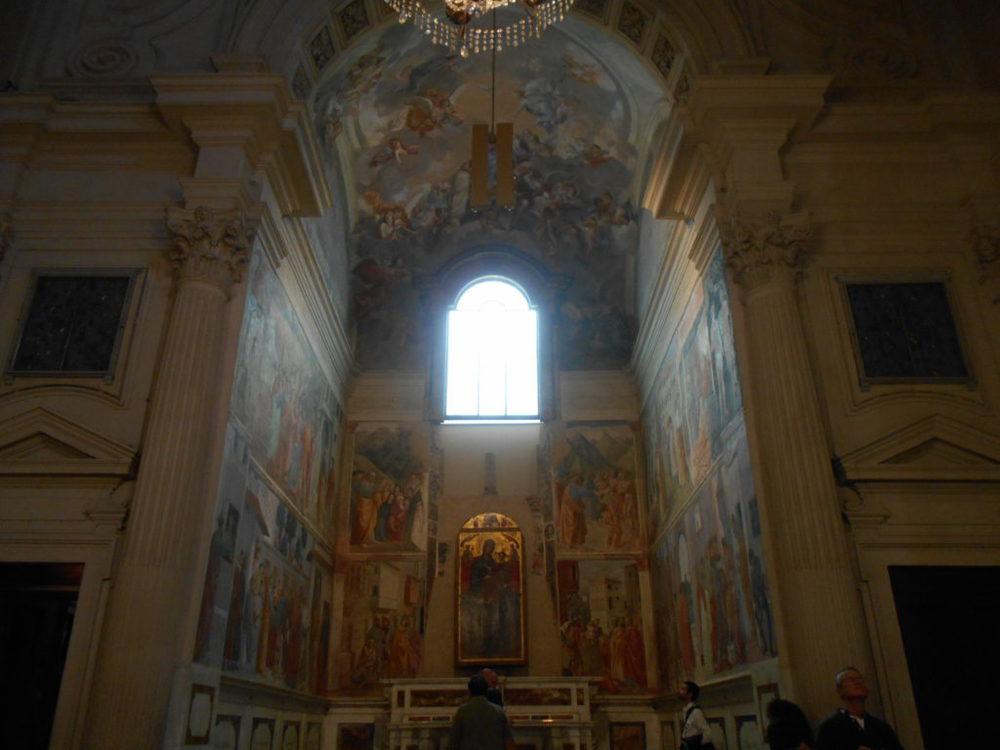 Cappella Brancacci- chiesa Santa Maria del Carmine