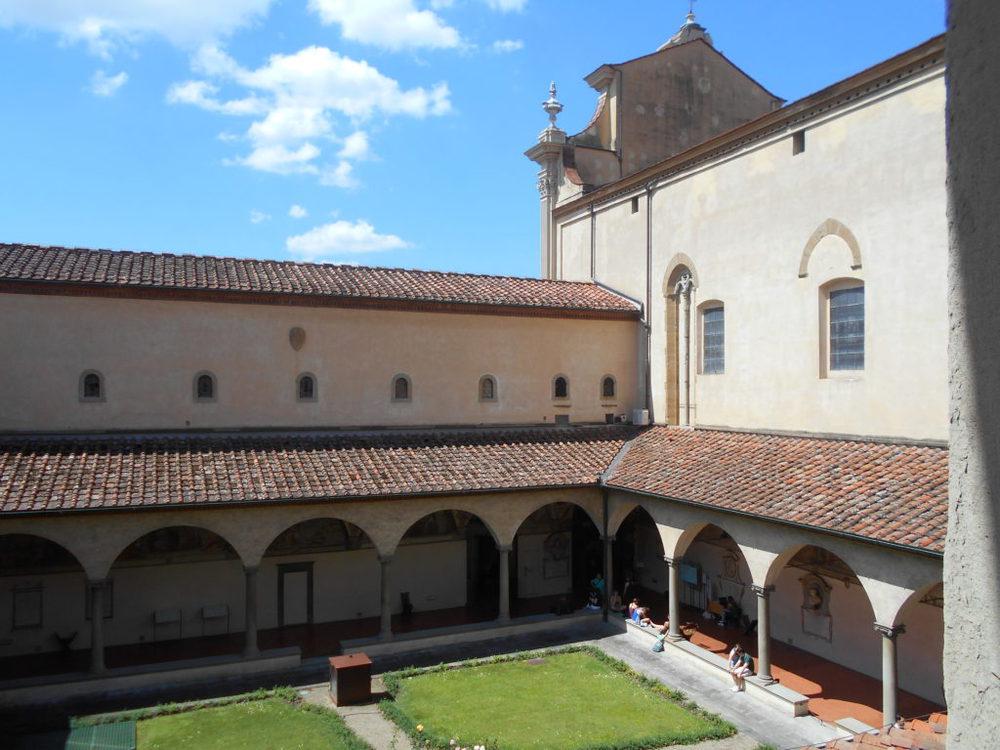 Il chiostro del convento di San Marco