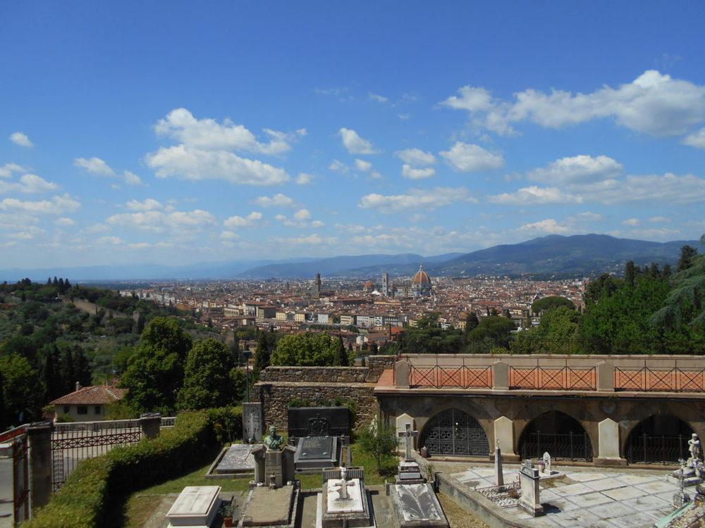 Firenze vista dalla basilica di San Miniato di Monte