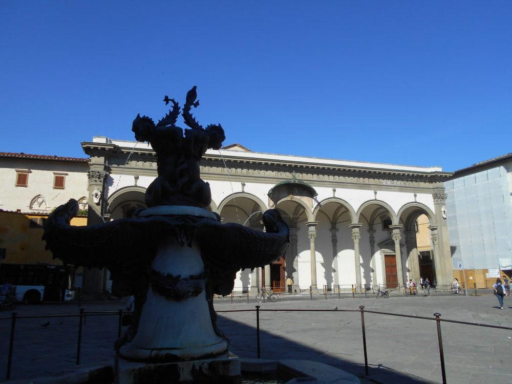 Cosa vedere a Firenze: piazza della ss annunziata a firenze