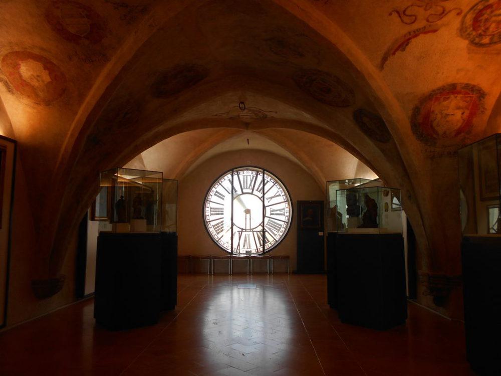 Una delle sale della Galleria Nazionale dell'Umbria