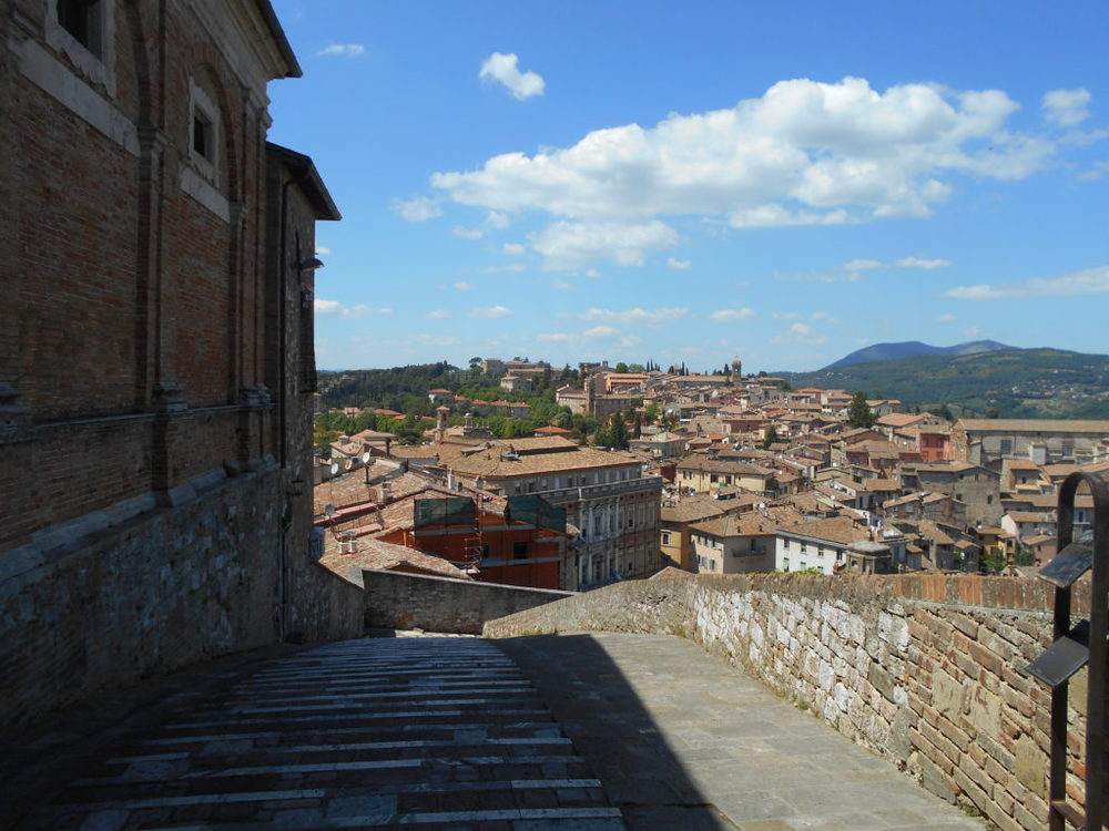 Uno scorcio su Perugia