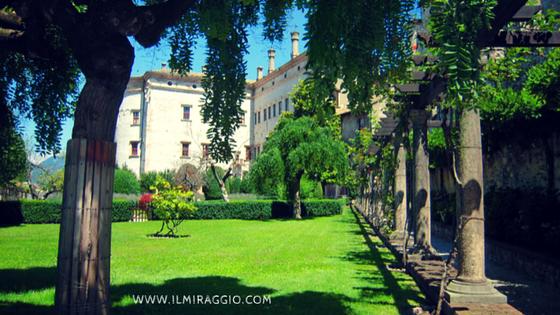 Il giardino del Castello del Buonconsiglio