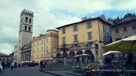 Piazza del Comune ad Assisi