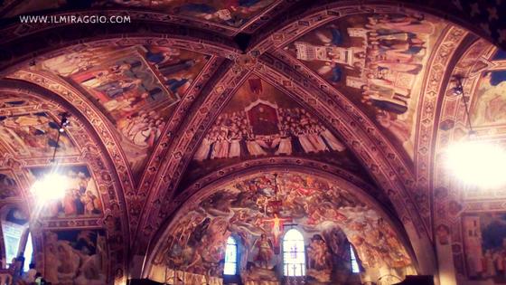 Alcuni affreschi della Basilica di S. Francesco