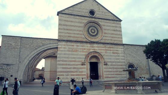 Esterno della chiesa S. Chiara