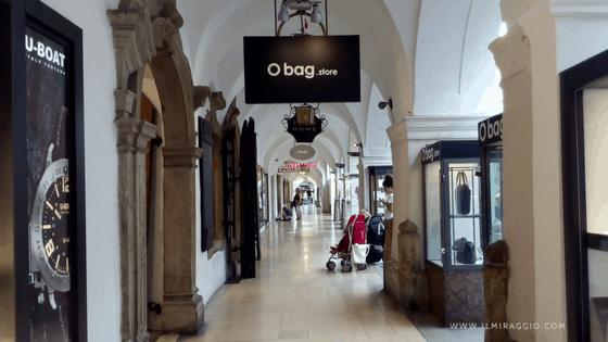 Sotto i portici di Bolzano