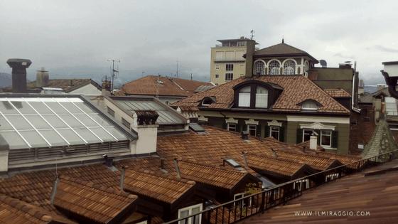 I tetti sopra Bolzano