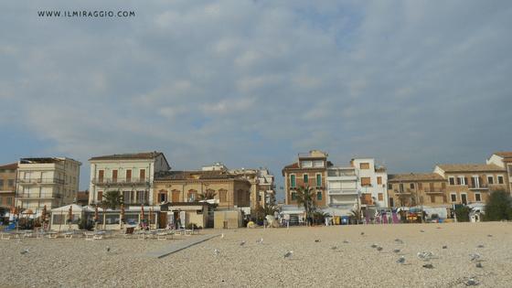 La spiaggia di Porto Recanati