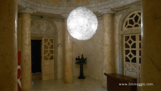 L'entrata del Teatro Beniamino Gigli
