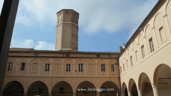 Chiostro della Chiesa di S. Agostino