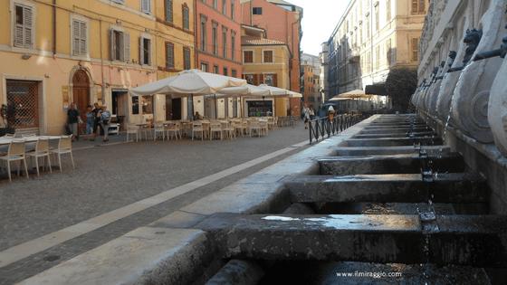 Uno scorcio del centro storico