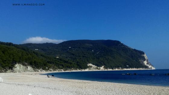 La spiaggia di San Michele - Sirolo