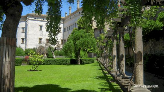I giardini del Castello del Buonconsiglio
