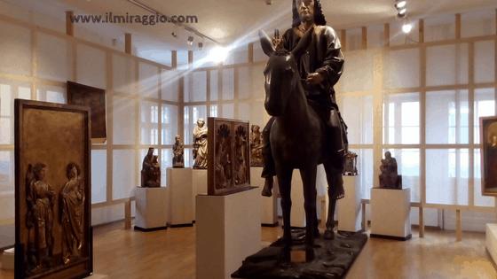 Uno scorcio del Museo Civico di Bolzano