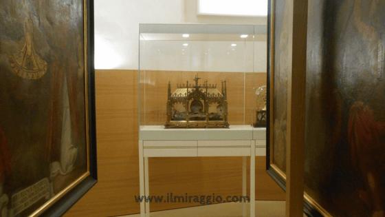 Uno scorcio del museo Tesori del Duomo di Bolzano