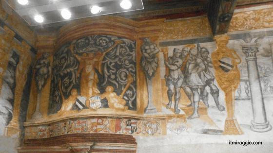 Alcuni affreschi