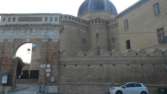 Basilica vista dalla Santa Scala