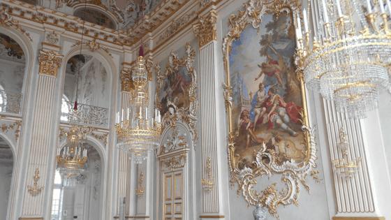 Salone principale del castello di Nymphenburg