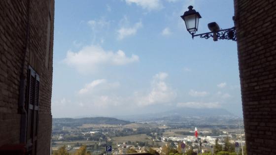 Panorama verso il Conero