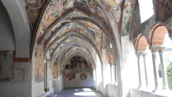 La Bibbia Illustrata nel chiostro del Duomo