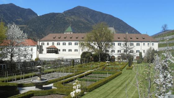 Il giardino dell'Abbazia di Novacella