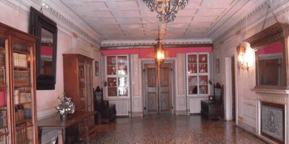 Sala principale di Villa Martis