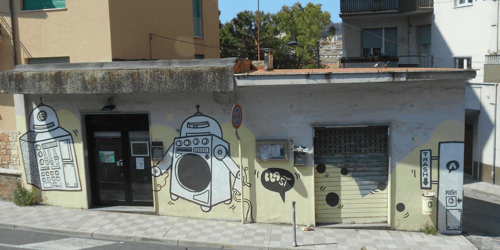 Blast ad Ancona