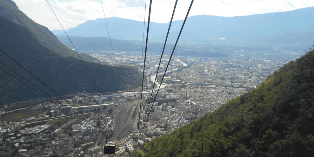 Bolzano dall'alto trekking altopiano renon