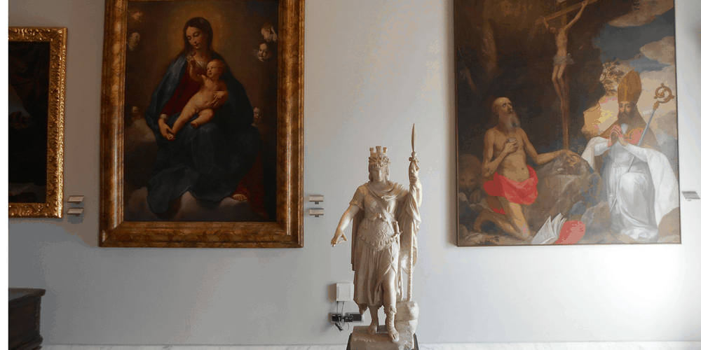 Interno del Museo di Stato